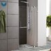 "<strong>Vigo</strong> Frameless Shower Door with 3/8"" Clear Glass"