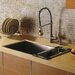 """<strong>32"""" x 19"""" Undermount Single Bowl Kitchen Sink with Faucet, Dispense...</strong> by Vigo"""