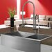 "<strong>36"" x 22.25"" Double Bowl Farmhouse Kitchen Sink</strong> by Vigo"