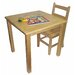 ECR4kids Square Classroom Table