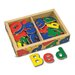 <strong>Magnetic Wooden Alphabet in a Box</strong> by Melissa and Doug