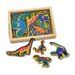 <strong>Melissa and Doug</strong> 20-Piece Magnetic Dinosaurs Set