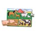 <strong>Melissa and Doug</strong> Farm Peg Puzzle