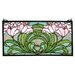 Tiffany Nouveau Calla Lily Stained Glass Window