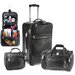 Koskin Leather 3 Piece Luggage Set