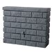 Exaco GRAF 105 gal. Brick Wall Rain Barrel