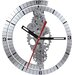 """<strong>Oversized 24"""" Moving Gear Wall Clock</strong> by Maples Clock"""