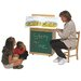 Steffy Wood Products Big Book Easel Storage Chalkboard