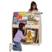 "Steffy Wood Products Multi-Store Mobile 41"" Book Display"