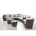 Fawn 7 Piece Lounge Sectional Set by International Design USA
