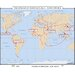 Universal Map World History Wall Maps - Spread of Agriculture
