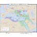 World History Wall Maps - Ottoman Empire to 1672