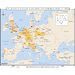 World History Wall Maps - Industrialization & Urbanization in Europe