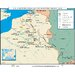 World History Wall Maps - U.S. Participation on Western Front