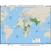 Universal Map World History Wall Maps - U.N. Military & Peacekeeping Missions