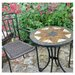Montilla 3 Piece Round Standard Dining Set with Malaga Chair by Europa Leisure