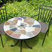 <strong>Europa Leisure</strong> Pompei 3 Piece Round Standard Dining Set with Malaga Chair