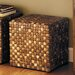 <strong>Cocotiger Bead Hassock Ottoman</strong> by Palecek