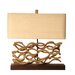 "<strong>Palecek</strong> Vine 20.5"" H Table Lamp with Rectangle Shade"