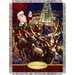 <strong>Northwest Co.</strong> Entertainment Tapestry Holiday Throw Blanket - Polar Express - Santa Flight