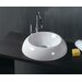 "Ceramica 18.5"" x 18.5"" Vessel Sink in White"