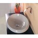 "Ceramica 23.6"" x 17.7"" Vessel Sink in White"
