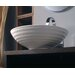 "Ceramica 17.7"" x 17.7"" Vessel Sink in White"