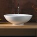 Ceramica Vessel Sink in White
