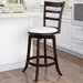"""<strong>Woodgrove 24"""" Swivel Bar Stool with Cushion</strong> by dCOR design"""