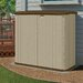 "<strong>Suncast</strong> 5'10.5"" W x 2'7.5"" D Resin Storage Shed"