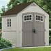 "<strong>Suncast</strong> Cascade 7'35"" W x 7'25"" D Resin Storage Shed"