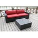 <strong>Pasadina Deep Seating Sofa with Cushions and Coffee Table</strong> by Bellini Home and Garden