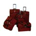 <strong>American Flyer</strong> Madrid 5 Piece Spinner Luggage Set