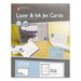 Maco Tag & Label Unruled Index Cards, 150/Box