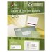 Recycled Laser and InkJet Labels, 1 x 2 5/8, White, 750/Box