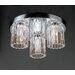 Felicia 3 Light Semi Flush Mount