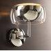 59.9Lumisphere  Wall Sconce in Polished Chrome