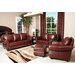 <strong>Harbor Premium 4 Piece Semi-Aniline Leather Sofa, Loveseat, Armchai...</strong> by Abbyson Living