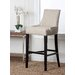 "<strong>Abbyson Living</strong> Hudson 30"" Bar Stool with Cushion"