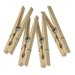 Wood Clothespins with Spring (100 Count)