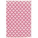 <strong>Dash and Albert Rugs</strong> Samode Fuchsia Ivory Indoor/Outdoor Rug