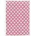Dash and Albert Rugs Samode Fuchsia Pink Indoor/Outdoor Area Rug