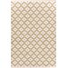 <strong>Dash and Albert Rugs</strong> Samode Khaki Ivory Indoor/Outdoor Rug