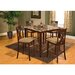 <strong>Hazelwood Home</strong> Counter Height 5 Piece Dinette Set
