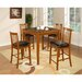 <strong>Counter Height 5 Piece Dining set</strong> by Hazelwood Home