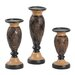 <strong>3 Piece Candlestick Set</strong> by Hazelwood Home