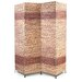 """<strong>Proman Products</strong> 67"""" x 60"""" Jakarta-B Folding Screen 4 Panel Room Divider"""