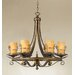 Rustico 6 Light Chandelier