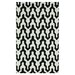 <strong>Trellis Black Rhonda Rug</strong> by nuLOOM