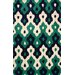 <strong>Cine Green Pat Rug</strong> by nuLOOM